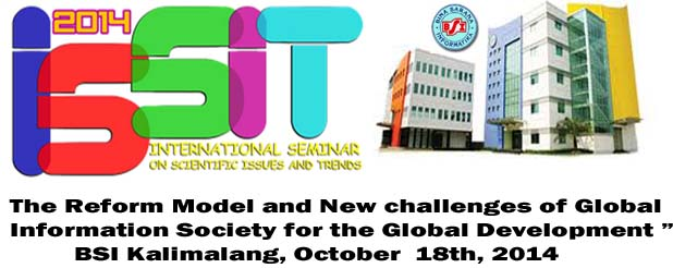 26 October 2013( BSI Kaliabang ), Pendaftaran Disini .